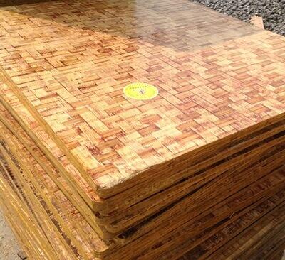 双面覆膜竹砖托板