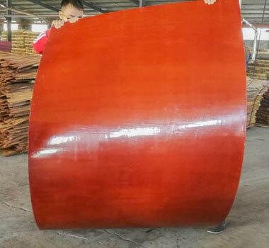 弧形桥梁专用竹胶板