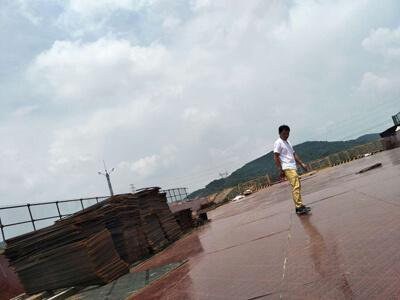 桥梁竹胶板施工案例